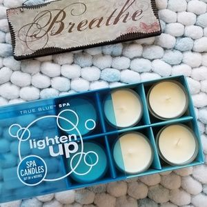 Bath and Body works Spa candles